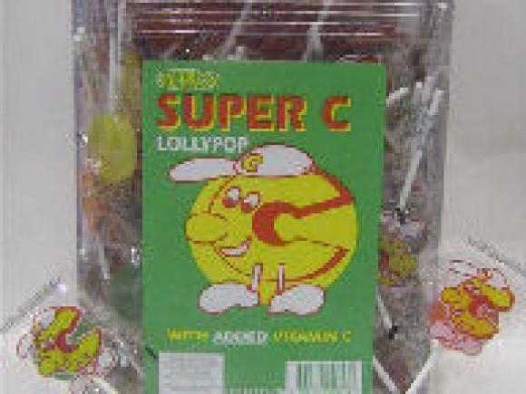 Super C Lollipops 200 Pack image
